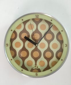 Retro Clock Kitchen 50s Spheres