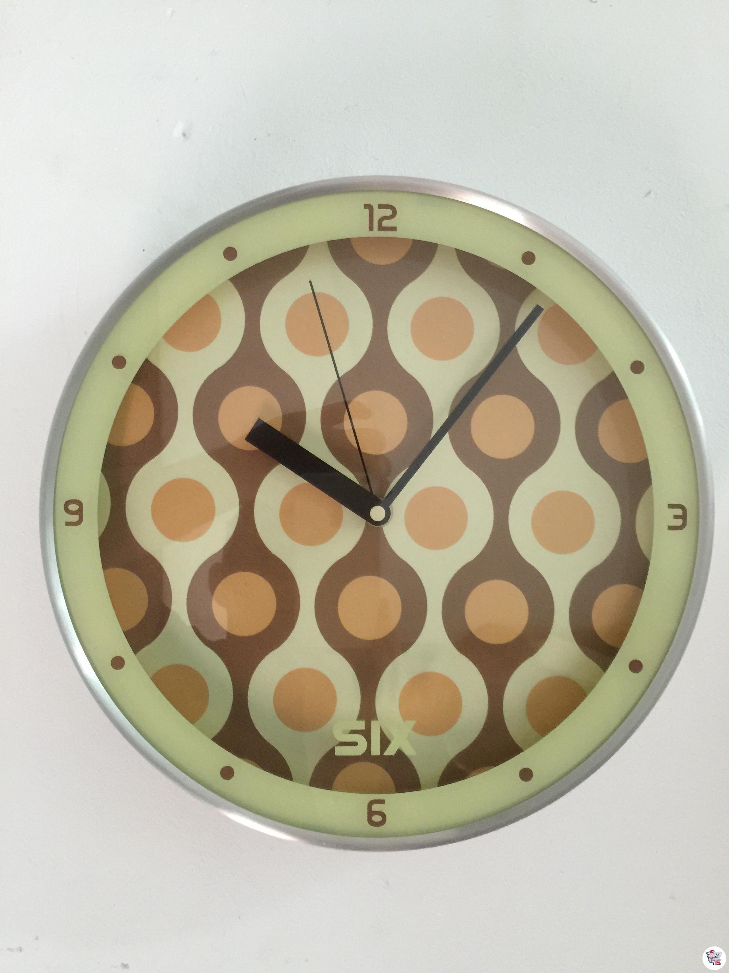 Reloj Retro Cocina 50s Esferas