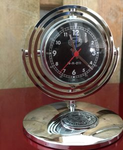Retro table clock Spirit Of St Louis