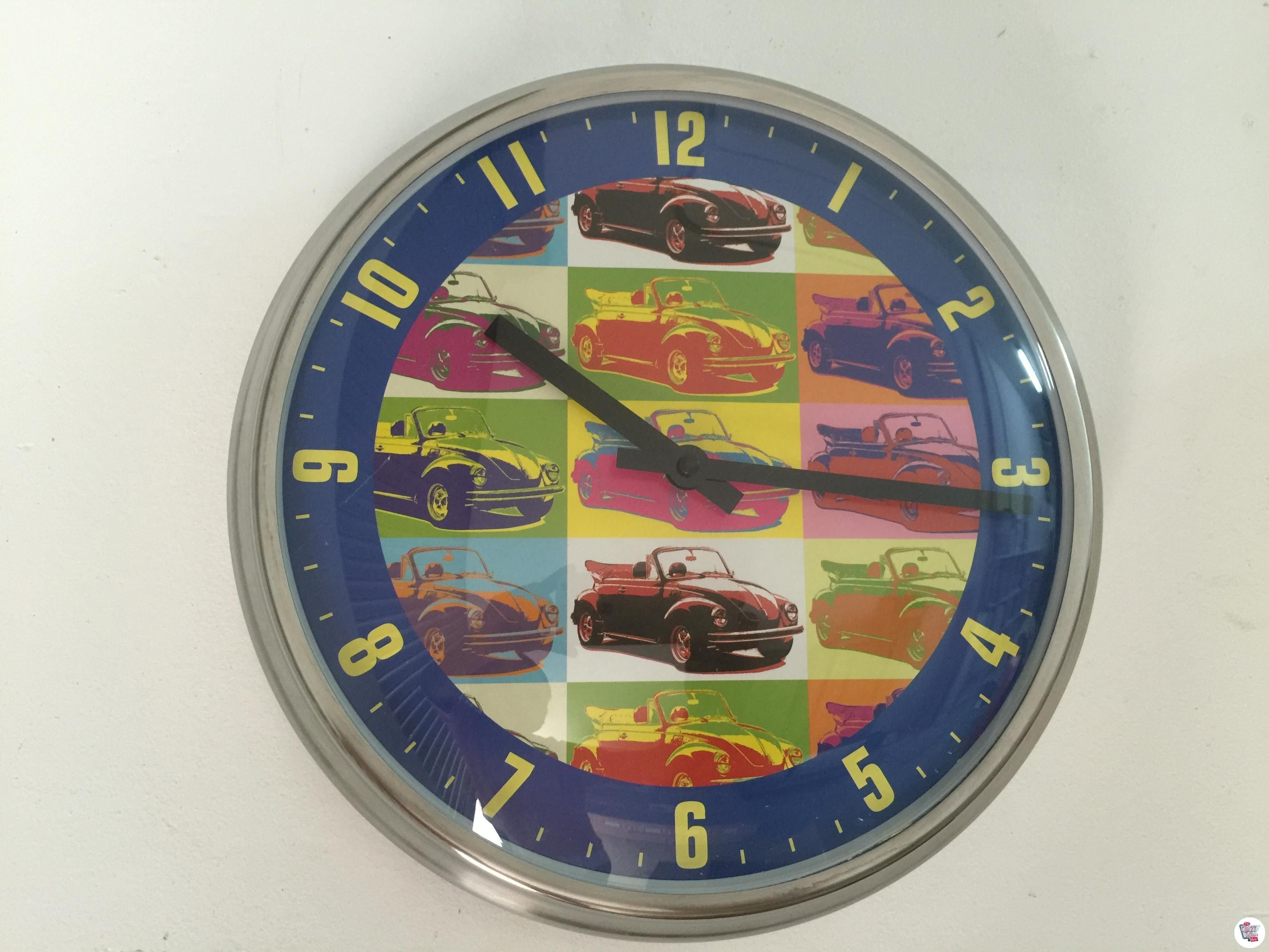 Reloj pared VW Escarabajo