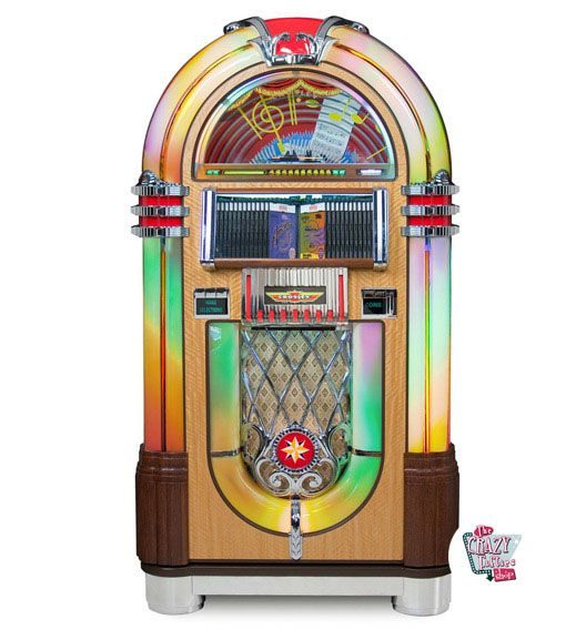 Jukebox-Rock ola CD Bubbler Profi