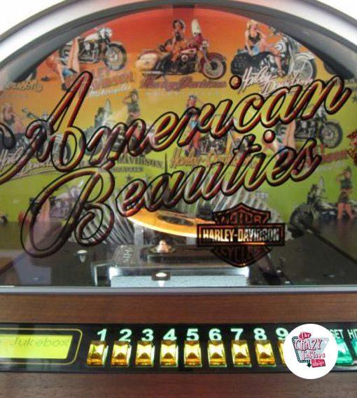 Jukebox Rock-ola CD H-D American Beauties