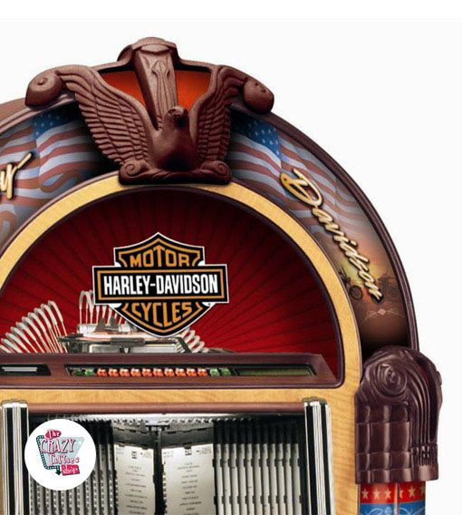 Jukebox Rock-ola CD Harley Davidson