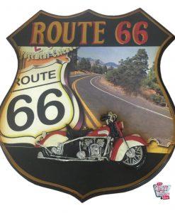 Cuadro Retro Route 66