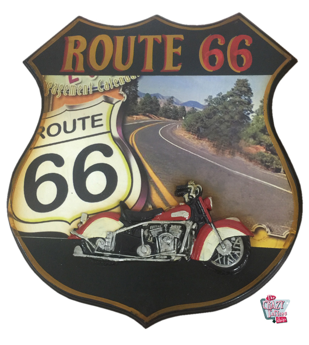 Retro Table Route 66