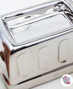 Salt og Pepper Shakers i brødrister med toast september