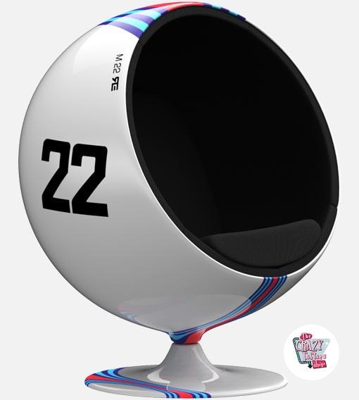 Ball stol Martini Racing