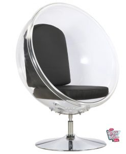 Bubble Chair con il basamento