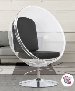 Bubble Chair mit Standfuß