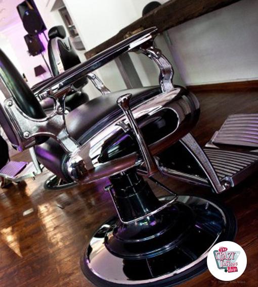 Retro barber stol Permablock