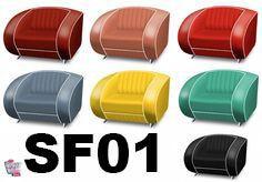 Retro Vintage lenestol SF01