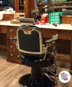 Poltrona da barbiere in stile retrò Lux