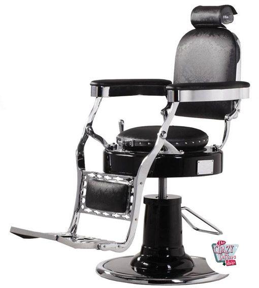 Cadeira de barbeiro clássico Retro Lux