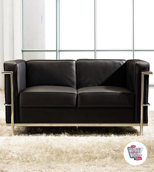 Divano le corbusier da 459 59 for Le corbusier mobili