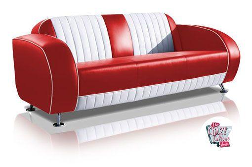 Retro Vintage Sofa Sf02cb G63 Thecrazyfifties Es