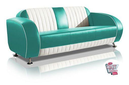 Divani Vintage Americani.Sofa Retro Vintage Sf02cb G63