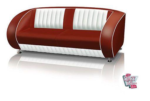 Retro Vintage Sofa