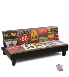 Comprar sof cama vintage por s lo 299 for Sofa cama 90 cm ancho