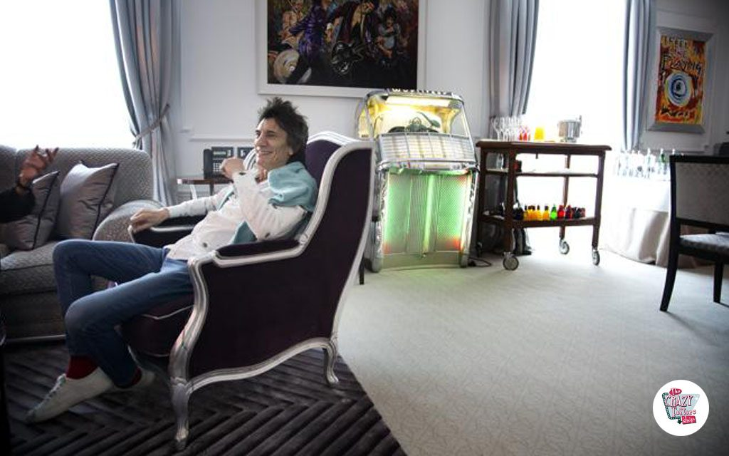 Suite Ronnie Wood Hotel Palace Barcelona