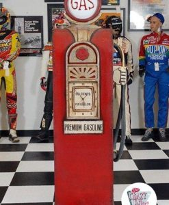 Large Closet Retro Gasoline pump