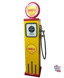 Retro Gasoline Pumpe 8 Kugel