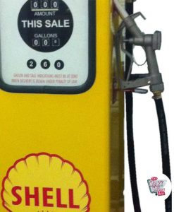 Retro Gasoline pump 8 Ball
