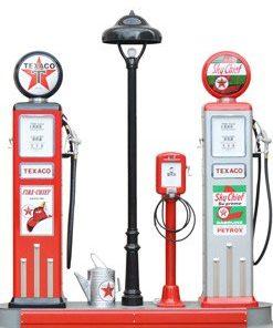Retro Benzin-Lieferanten
