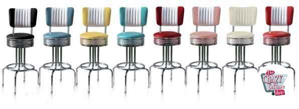 Stool Diner American BS28CB farver