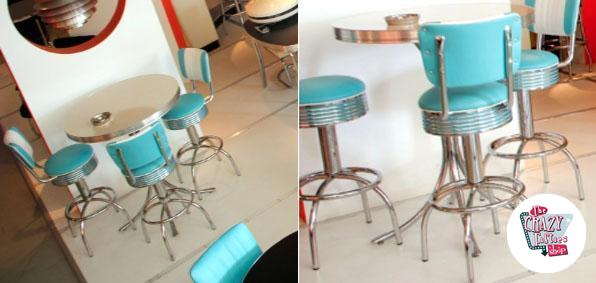 Stool Diner American BS30CB