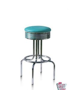 Turquoise retro bar stool bs28