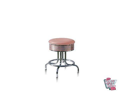 Hocker Retro American Diner BS2848 Rosa