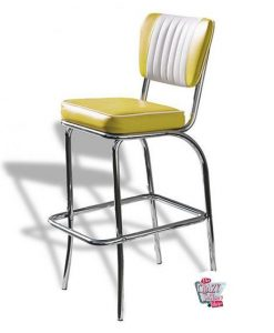 Stool Retro American Diner BS40