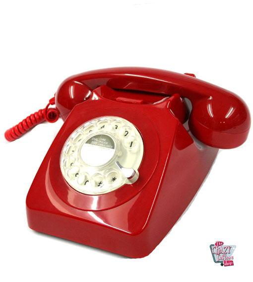 Telefone giratório retro