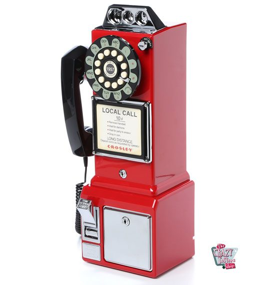 Teléfono Retro cabina 1950