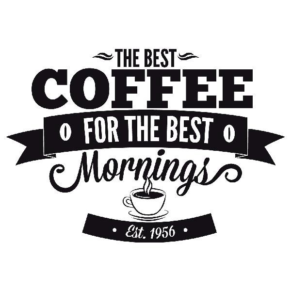 De bästa kaffe morgnar för bästa