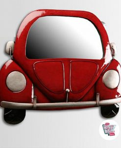 Wall mirror VW Beetle