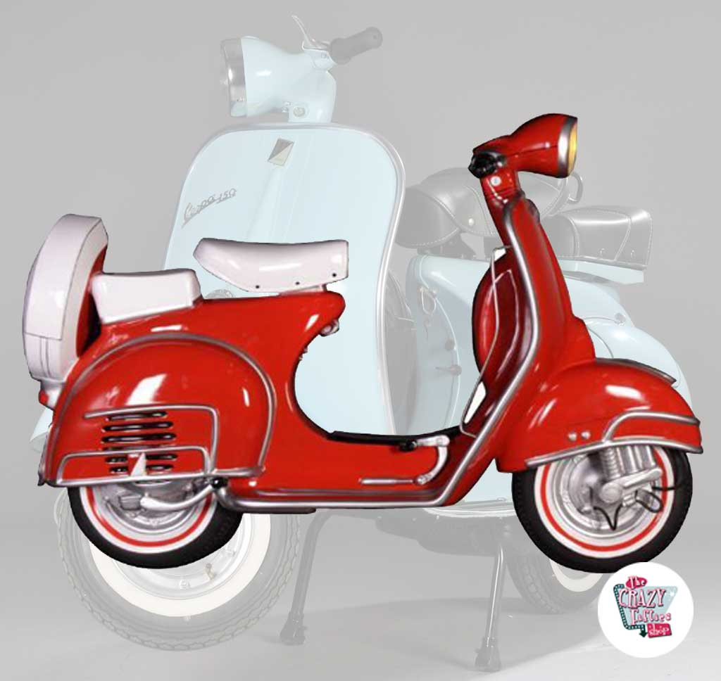 Wall Decoration Scooter
