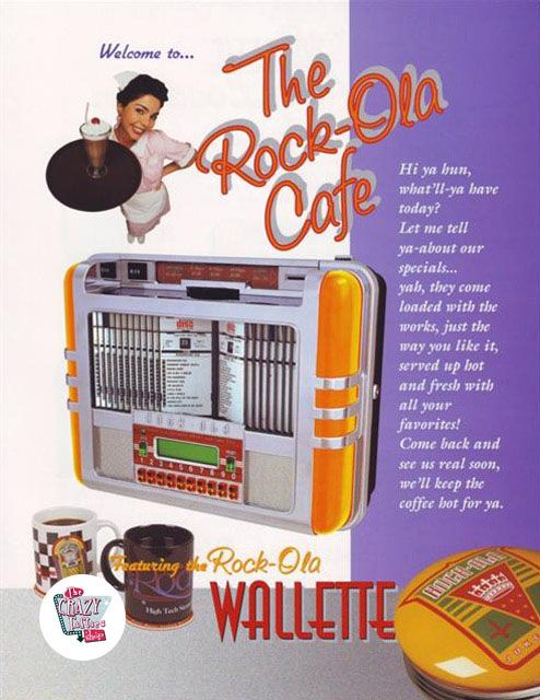Rock-ola Jukebox Wallette