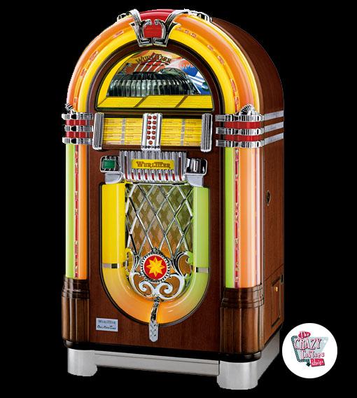Rask Wurlitzer Jukebox 1015 salg One More Time Vinyl »Thecrazyfifties.es GT-51
