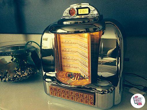 Jukebox Diner vægdåse