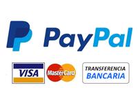 Formas de pago aceptadas en www.thecrazyfifties.es
