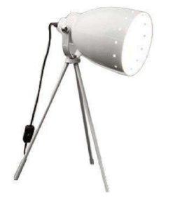 hvit bordlampe pære