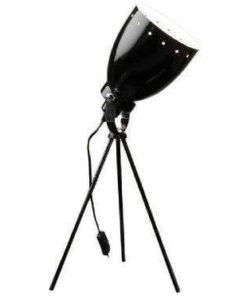 sort bordlampe