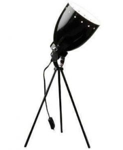 Lampe de table noir