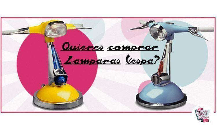 Vuoi comprare lampade Vespa?