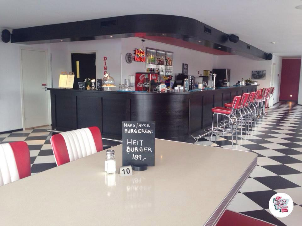 Retro American Diner Møbler