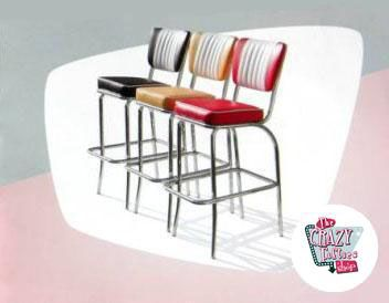 Stool Retro Diner BS40 Americana